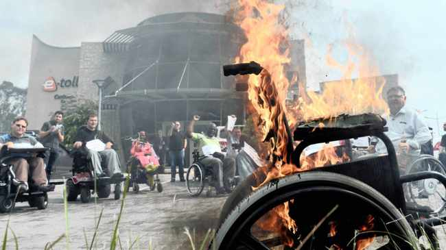 Disabled 'burnt by Sanral' promises