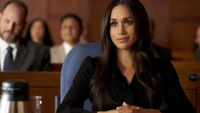 Meghan Markle. Picture: USA Network