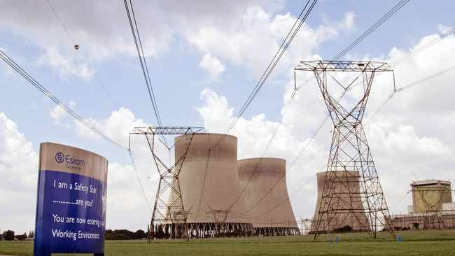 ESKOM asked the National Energy Regulator of SA for a tariff hike of more than 45 percent over the next three years.     Bloomberg
