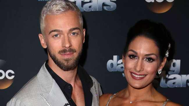 Nikki Bella and Artem Chigvintsev. Picture: Reuters
