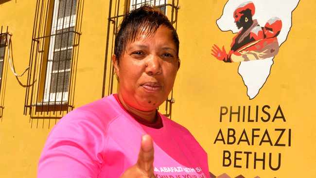Lavender Hill activist, Lucinda Evans, has been named as one of the Top 100 most influential women in the world by the BBC. Picture: Jack Lestrade