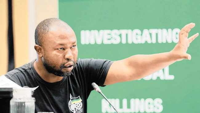Whistle-blower and former ANC Youth League Harry Gwala region secretary Thabiso Zulu. Picture: Sibonelo Ngcobo/African News Agency (ANA)