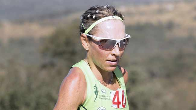 Charné Bosman does not consider herself fulfilled, at least not until she has a Two Oceans Marathon title. Photo: BackpagePix