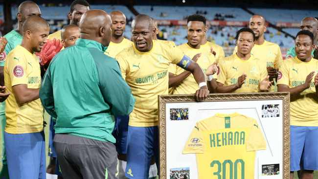 Hlompho Kekana scored the winner the last time the Brazilians faced USM Alger. Photo: Samuel Shivambu BackpagePix