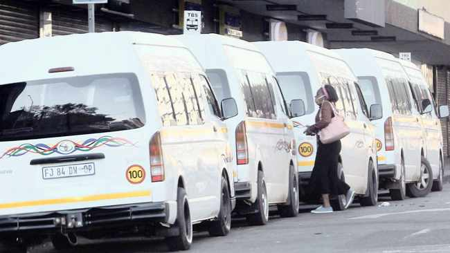 Let us pay taxis the R20 000 they want