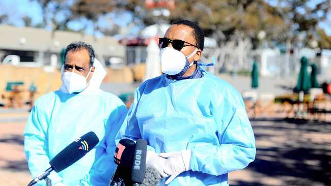 No hard lockdown for Gauteng, but concern over health workers getting infected with Covid