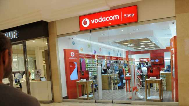 Vodacom on Monday posted a 3.9 percent jump in revenue to R44.4 billion in the six months to September as its international operations made significant gains to maintain the group's strong balance sheet. Photo: Dumisani Sibeko