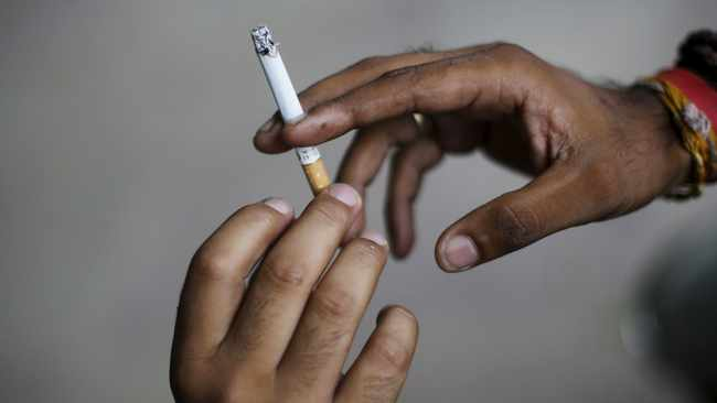 More than one in ten women - 65 000 every year in England alone - still smoke all the way through pregnancy. Picture: Reuters