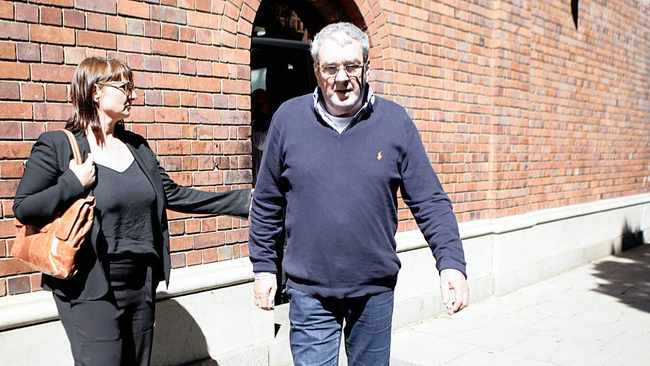 Augustinus (Guus) Kouwenhowen leaves the Cape Town Magistrate's Court after being released on bail of R1 million in 2017. File picture: Brendan Magaar/African News Agency/ANA