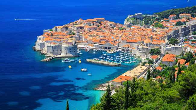 The coast of Dubrovnik, Croatia. Picture: Supplied