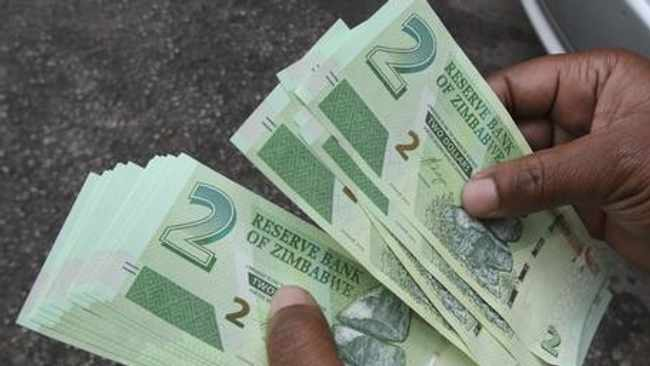 The bond notes that started circulating in Zimbabwe in 2016. Picture: Xinhua