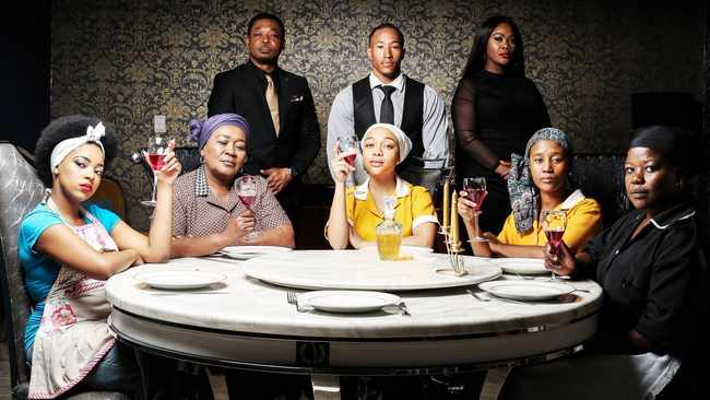 The cast of Housekeepers on channels Mzansi Magic and One Magic. Picture: Supplied
