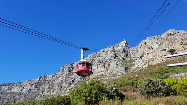 The Table Mountain Aerial Cableway will reopen on September 1, 2020. File image