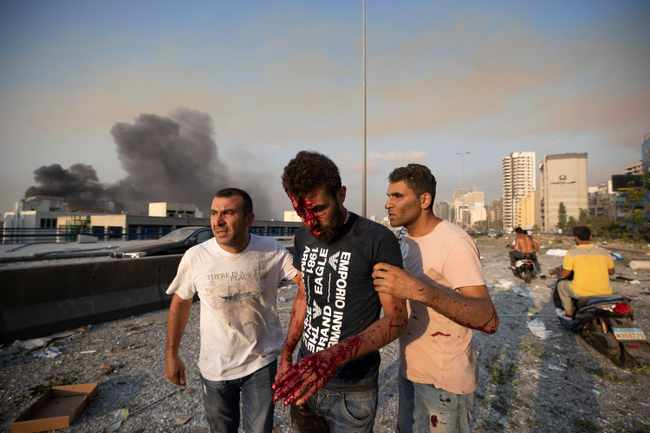 07d640f5 d15d 513c a34f 2ed5f35eb9f1 - PICS: Death toll in Beirut blast rises to over 50, thousands injured, says Lebanon health minister