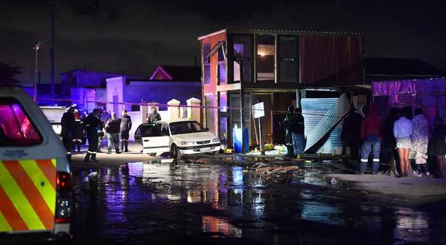 PICS & VIDEO: Six dead, four wounded in Khayelitsha mass shooting, Newsline