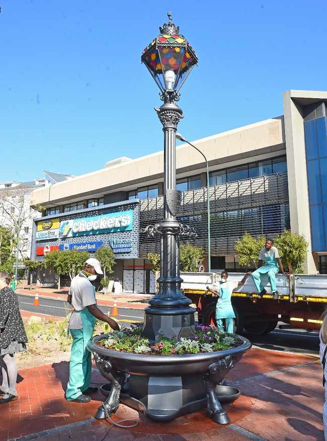 Historic fountain of 1891 restored and returned to Rondebosch community, Newsline