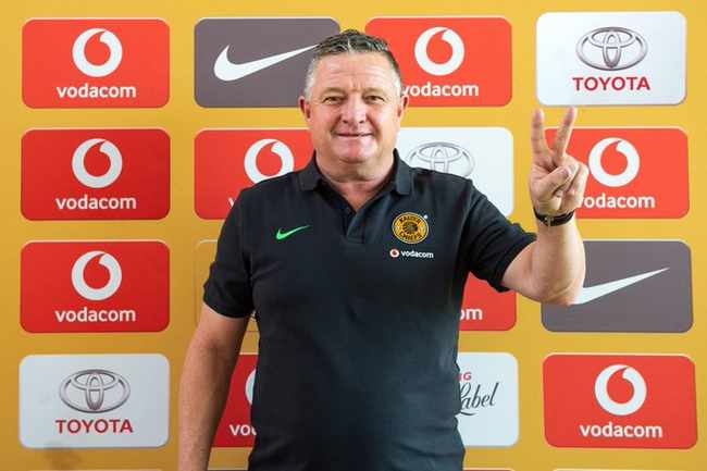 Hunt is the right chief for Amakhosi – Komphela, Newsline