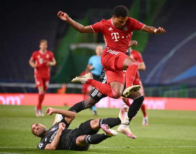 7213e8fa 7c8e 536f 8c0b e2ab1950aa07 - PSG awaits-Gnabry brace sends dominant Bayern into Champions League final