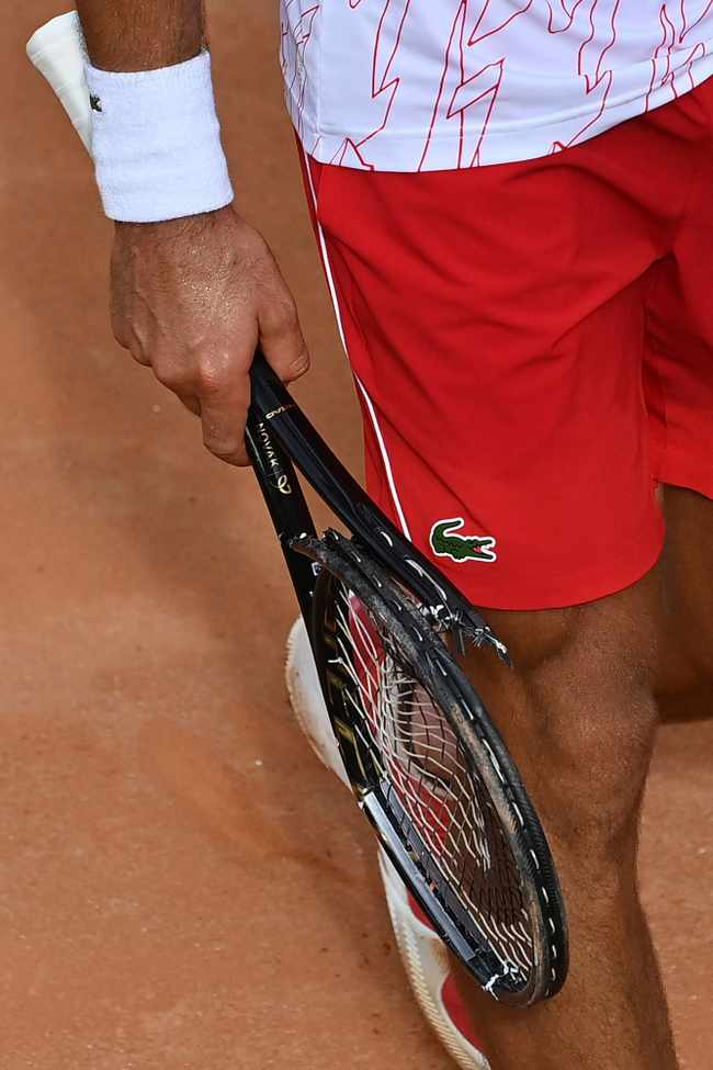 'I'm not perfect' says Djokovic after losing cool at Italian Open, Newsline