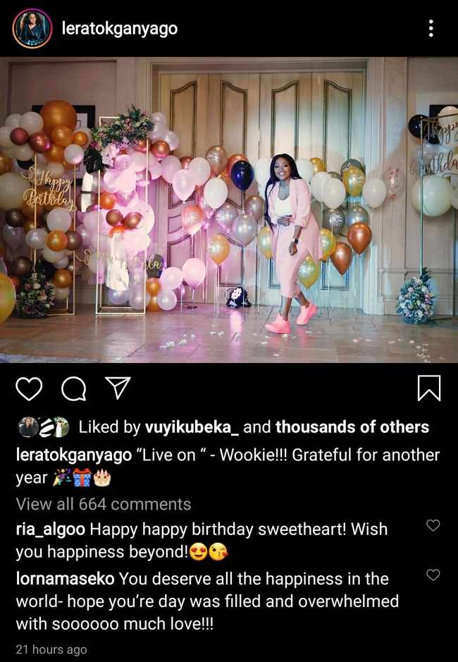 8789051a 4876 5cc2 be4f 9a89d371f020 - WATCH: Lerato Kganyago gets lavish birthday surprise