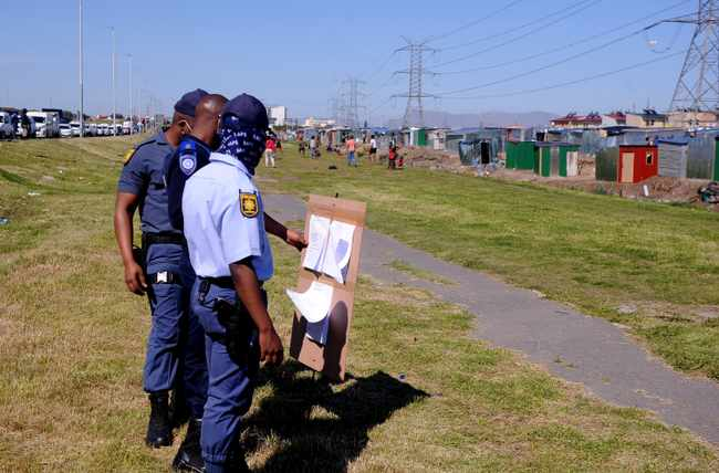 Invaders on a piece of land near Joe Slovo asked to clear site, Newsline