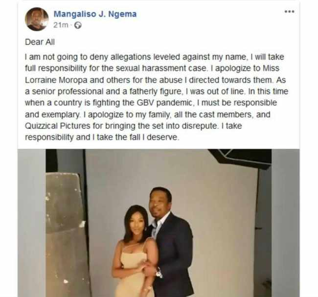 f8750e15 341e 5de2 97b7 78355906082f - WATCH: Mangaliso Ngema breaks his silence on sexual harassment claims