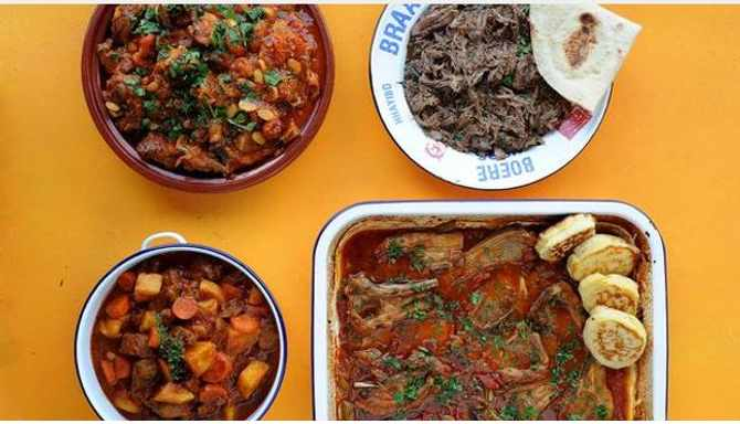 In South Africa, goat meat is usually reserved for special rituals and prayers, and then boiled and eaten with a starch of choice, mostly dombolo or pap. But there's more to it than that. Picture: Chris Collingridge