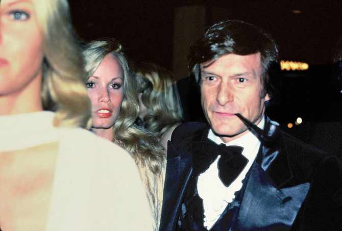 Probably the most famous sugar daddy of all time is Hugh Hefner, the man who founded Playboy magazine.