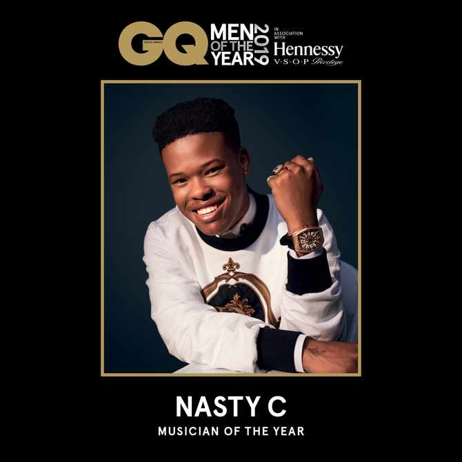 Musician of the Year Award Recipient: Nasty C