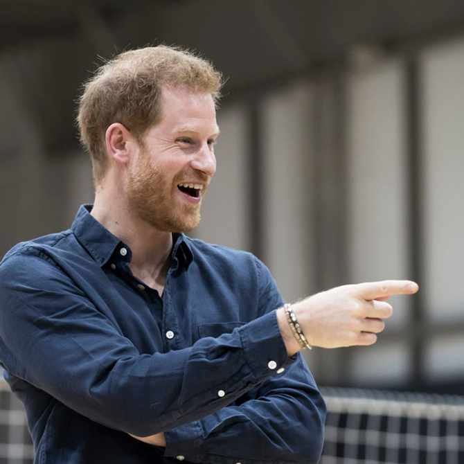 Prince Harry. Image: Supplied
