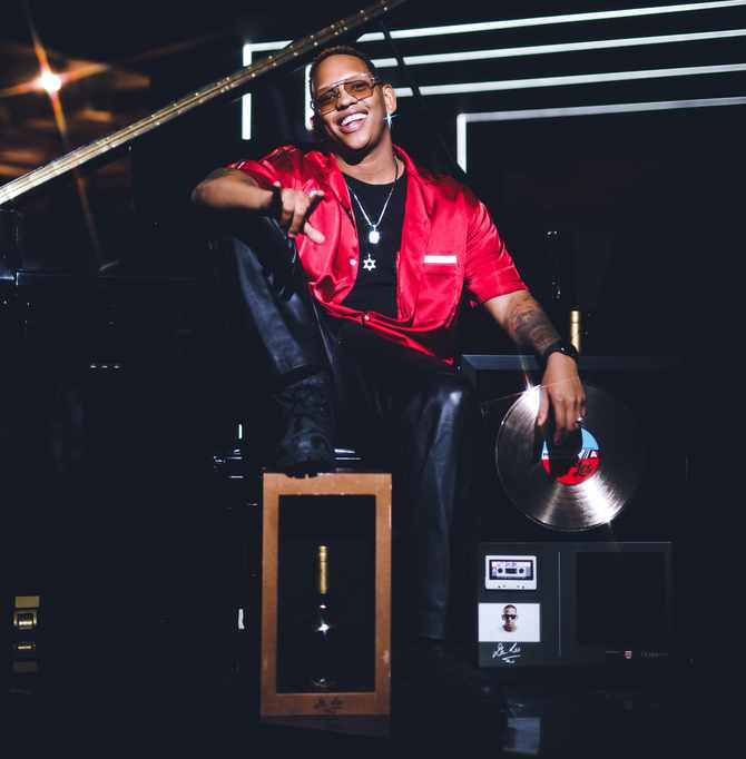 Hip hop star Da L.E.S inducted into the Hennessy Wall of Fame in December 2019. The Hennessy Wall of Fame honours South African hip hop royalty,  Image: Supplied