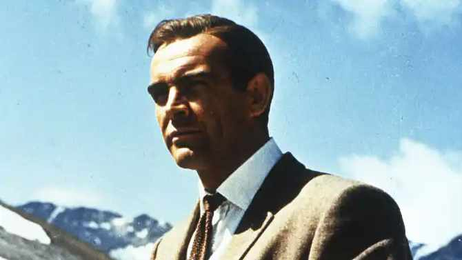Picture: Sir Sean Connery as James Bond, Bang Showbiz