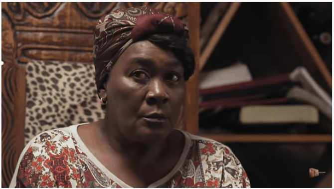 Internationally renowned Connie Chiume plays Mam'Sonto Molefe in Gomora