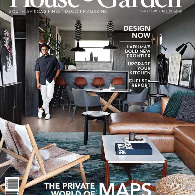 Maps has just opened up his home for Condé Nast House & Garden marking a first for the brand