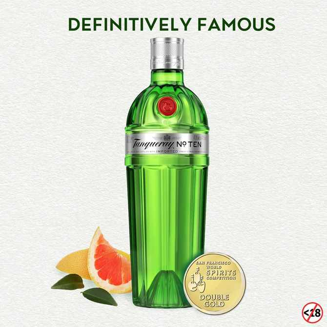 #UnmistakablyTanqueray standout cocktail recipes to celebrate GLAMOUR's Women of the Year