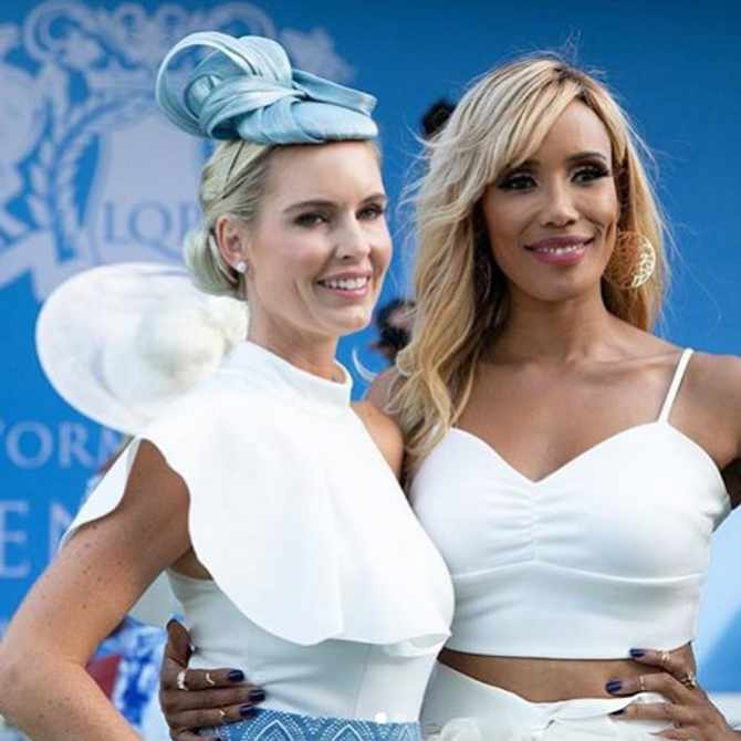 How to do comfortable glamour at the #LQPRacingfestival2020
