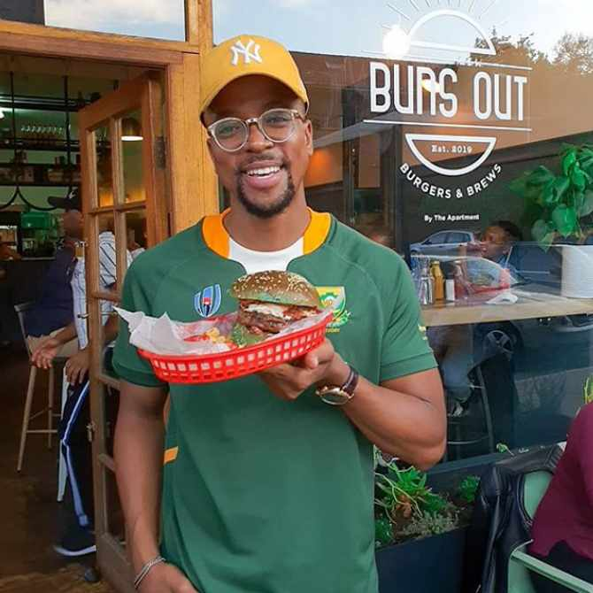 Maps Maponyane launches second 'Buns Out' restaurant in Durban