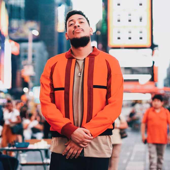 AKA is single again and on 'a self-discovery journey'