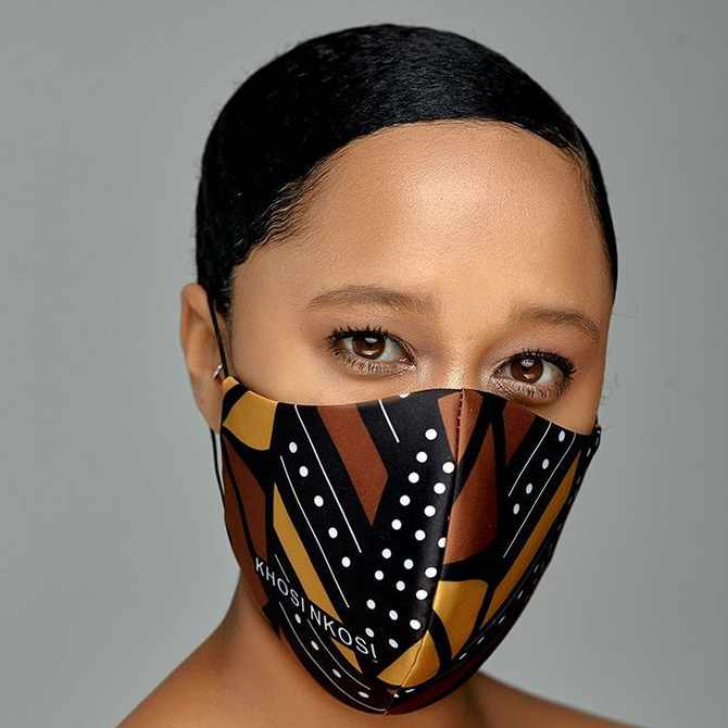 Super stylish and proudly African face masks that you can buy online