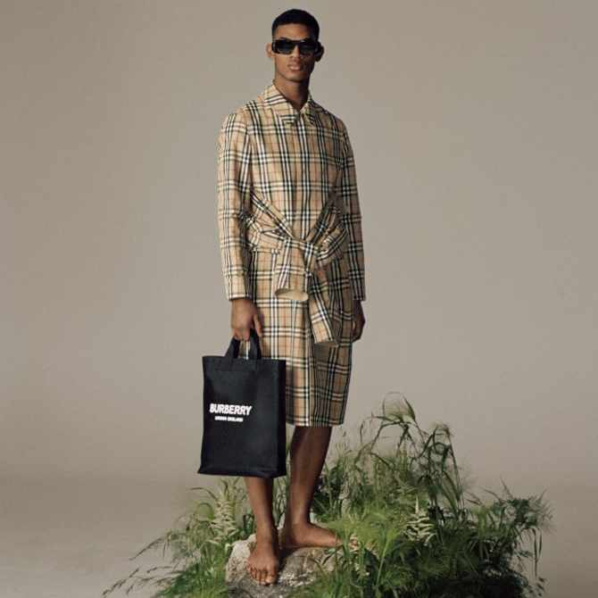 Burberry launches sustainable ReBurberry Edit line