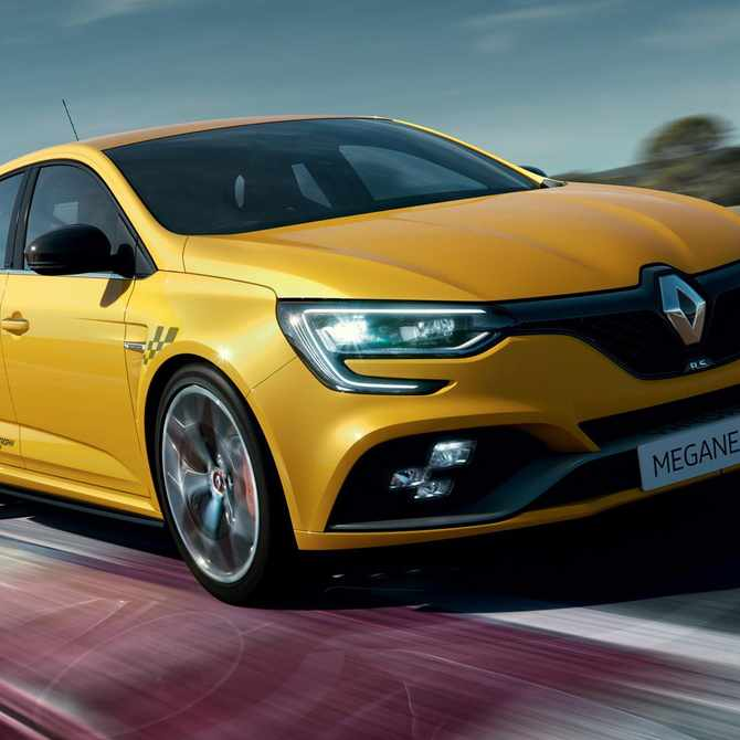 The New Megane RS Trophy is here