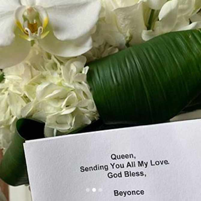 Beyonce and Rihanna send Megan Thee Stallion flowers