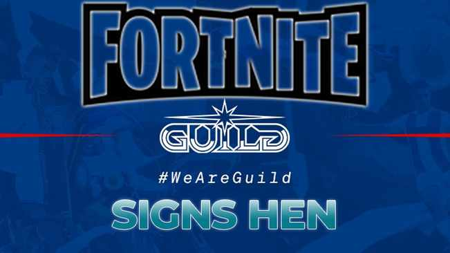 Guild Esports signs Hen as Pro Fortnite Player