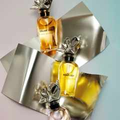Architect Frank Gehry collaborates with Louis Vuitton on perfume bottle