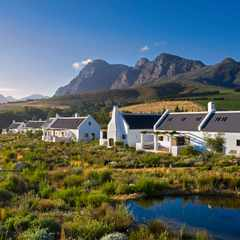 The gentle pace, simple yet sophisticated spaces and immersion in nature make Fynbos Family House an idyllic family escape