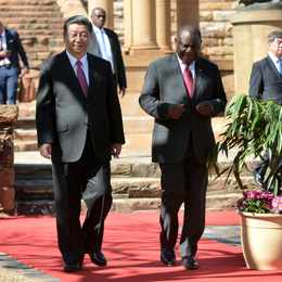 China highlights strong relationship with South Africa