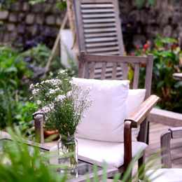 How to create a cool, calm and comfortable patio