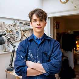 Princess Margaret's grandson Sam Chatto is a budding ceramicist
