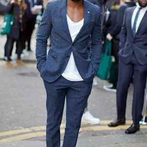 4 Ways to hack your go-to navy suit for a night out