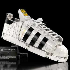 Lego and adidas' Superstar sneaker is a first of its kind